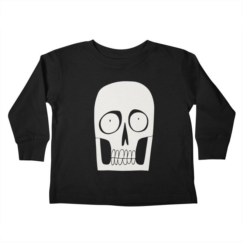 Skullduggery Kids Toddler Longsleeve T-Shirt by facebunnies's Artist Shop