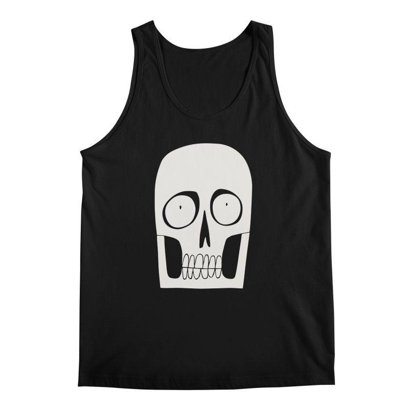 Skullduggery Men's Tank by facebunnies's Artist Shop