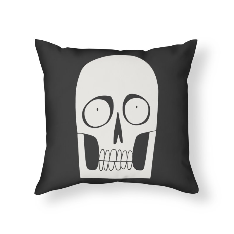 Skullduggery Home Throw Pillow by facebunnies's Artist Shop