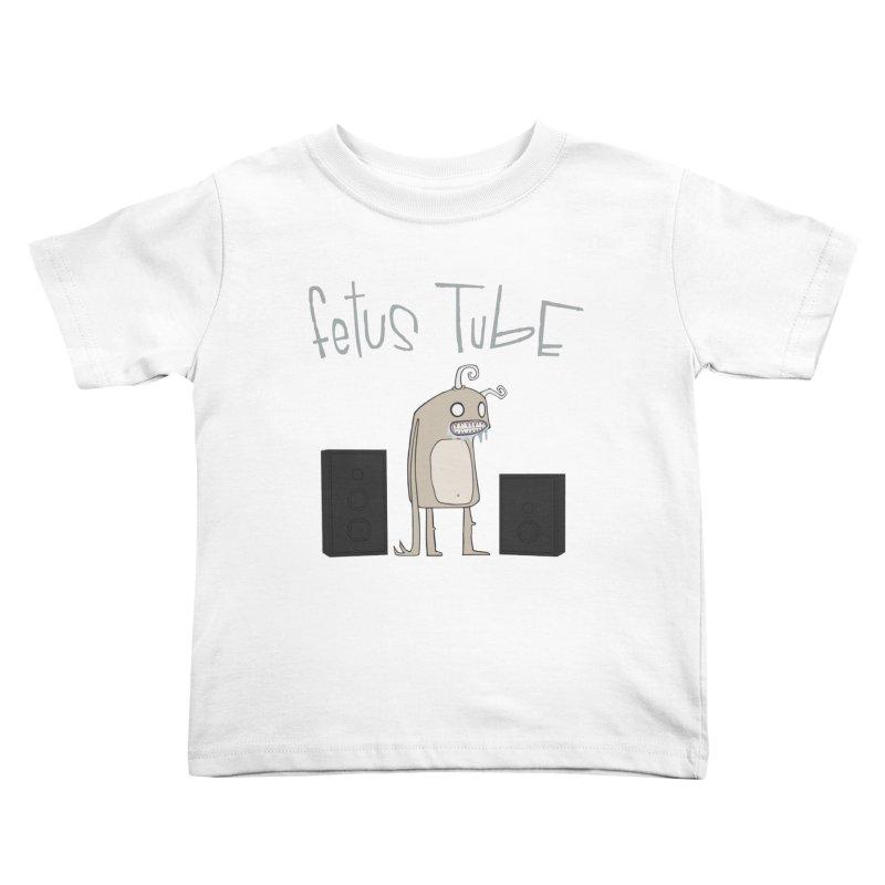 Fetus Tube Kids Toddler T-Shirt by facebunnies's Artist Shop