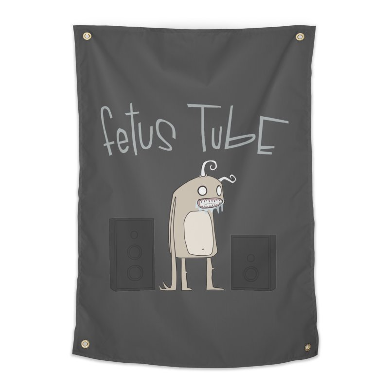 Fetus Tube Home Tapestry by facebunnies's Artist Shop