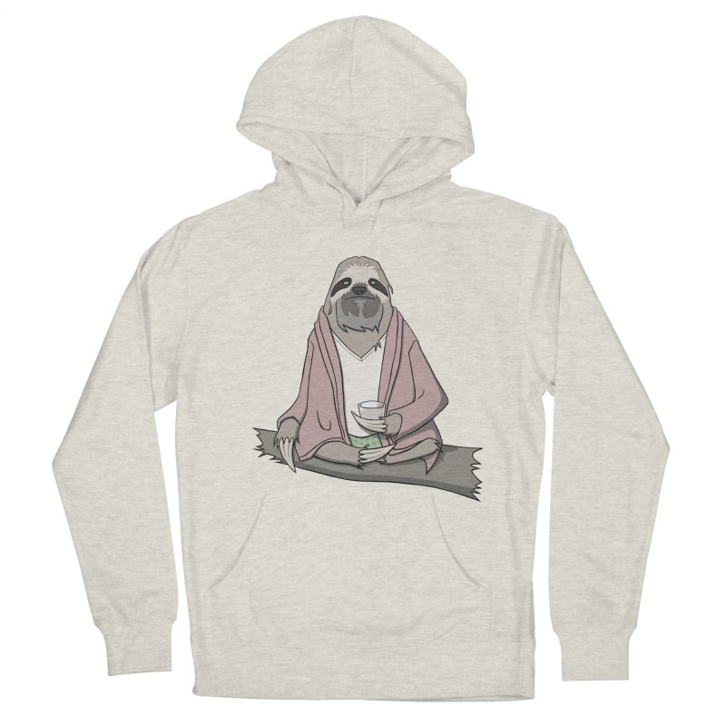 The Sloth Abides Men's Pullover Hoody by facebunnies's Artist Shop