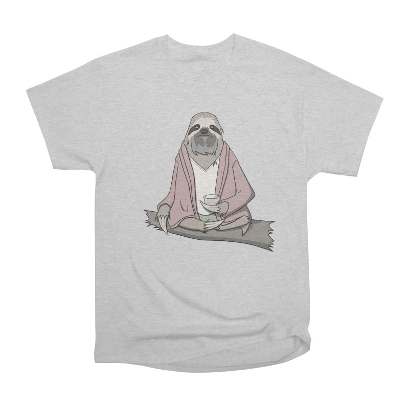 The Sloth Abides Women's Heavyweight Unisex T-Shirt by facebunnies's Artist Shop