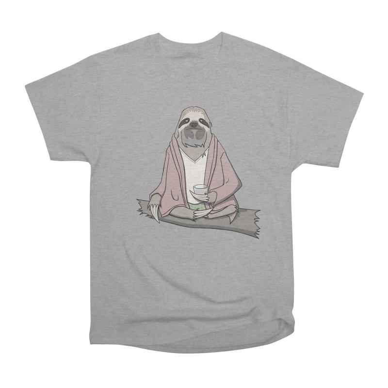 The Sloth Abides Men's Classic T-Shirt by facebunnies's Artist Shop