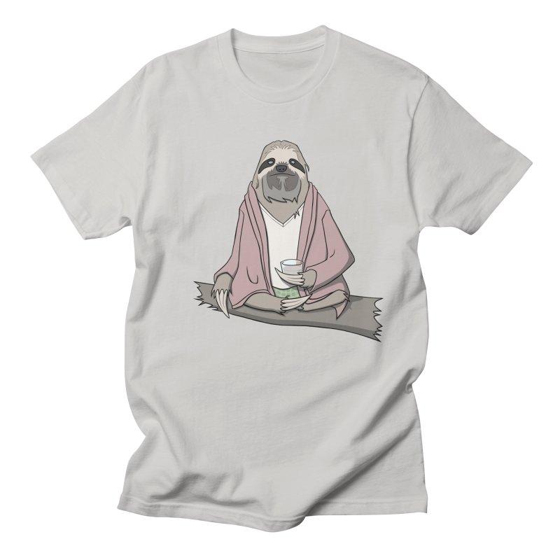 The Sloth Abides Men's T-shirt by facebunnies's Artist Shop
