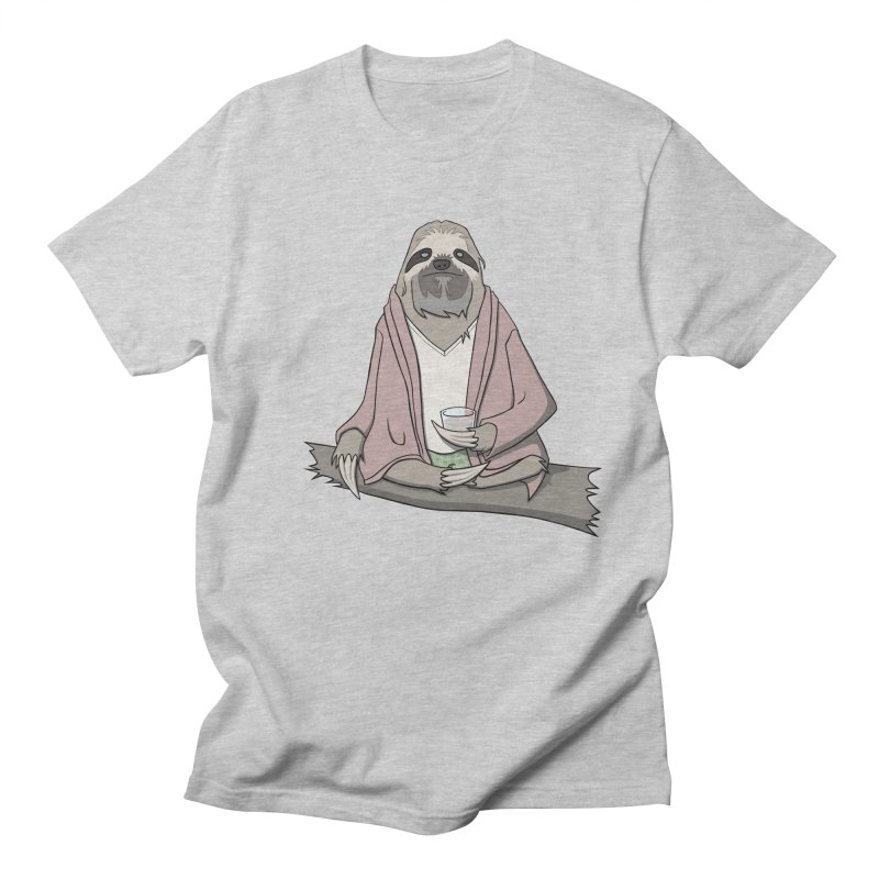 The Sloth Abides Women's Regular Unisex T-Shirt by facebunnies's Artist Shop