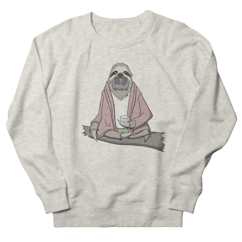 The Sloth Abides Men's Sweatshirt by facebunnies's Artist Shop