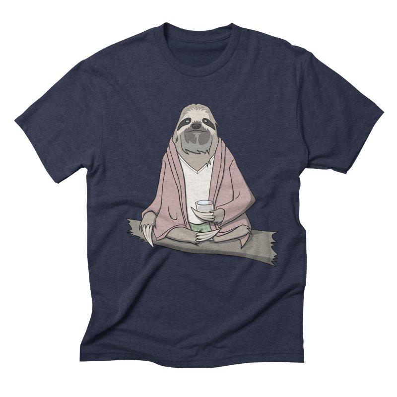 The Sloth Abides Men's Triblend T-shirt by facebunnies's Artist Shop