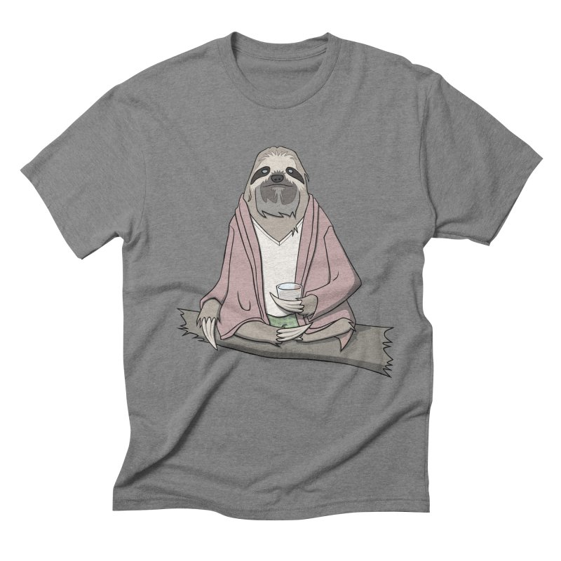 The Sloth Abides Men's Triblend T-shirt by facebunnies's Artist Shop