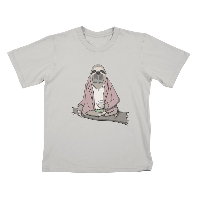 The Sloth Abides Kids T-shirt by facebunnies's Artist Shop