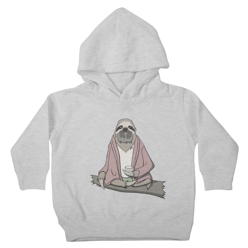 The Sloth Abides Kids Toddler Pullover Hoody by facebunnies's Artist Shop