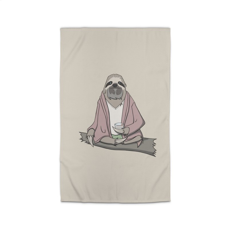 The Sloth Abides Home Rug by facebunnies's Artist Shop