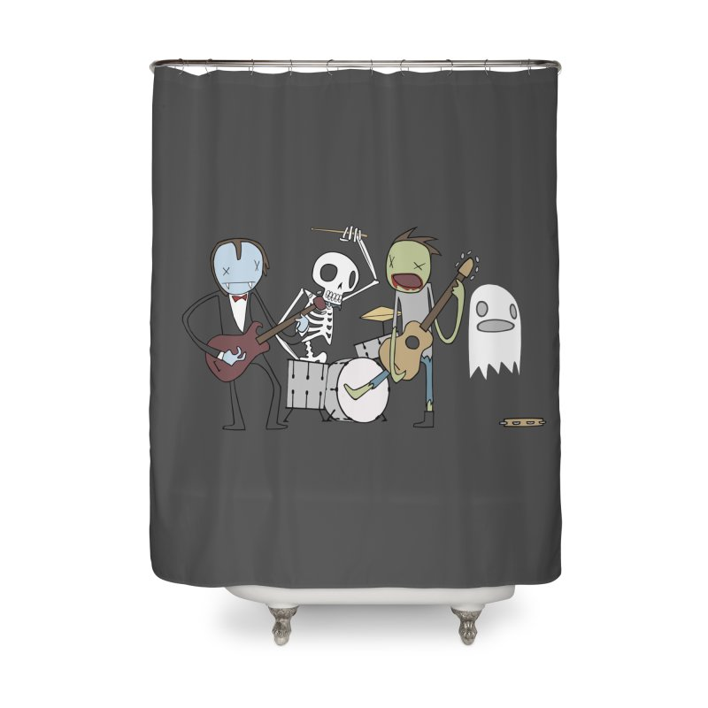 ..The Dead Will Rock The Earth Home Shower Curtain by facebunnies's Artist Shop