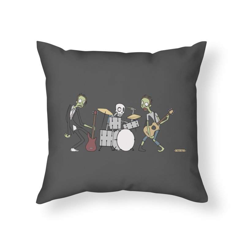 When There's No More Room In Hell.. Home Throw Pillow by facebunnies's Artist Shop