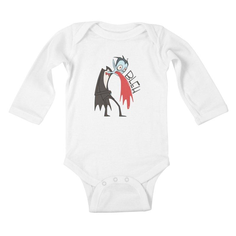 Fangover Kids Baby Longsleeve Bodysuit by facebunnies's Artist Shop