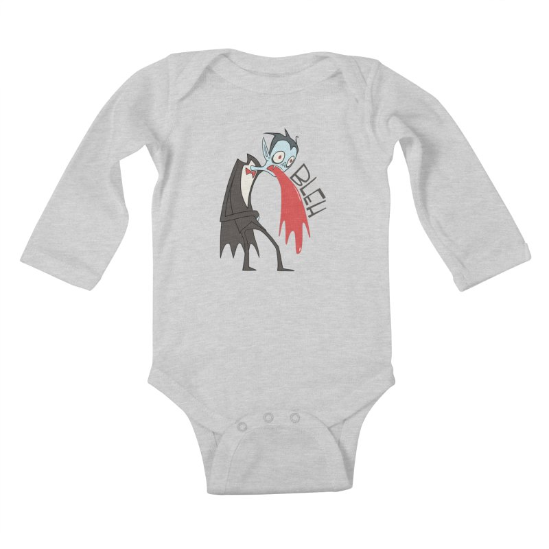 Fangover Kids Baby Longsleeve Bodysuit by facebunnies's Artist Shop