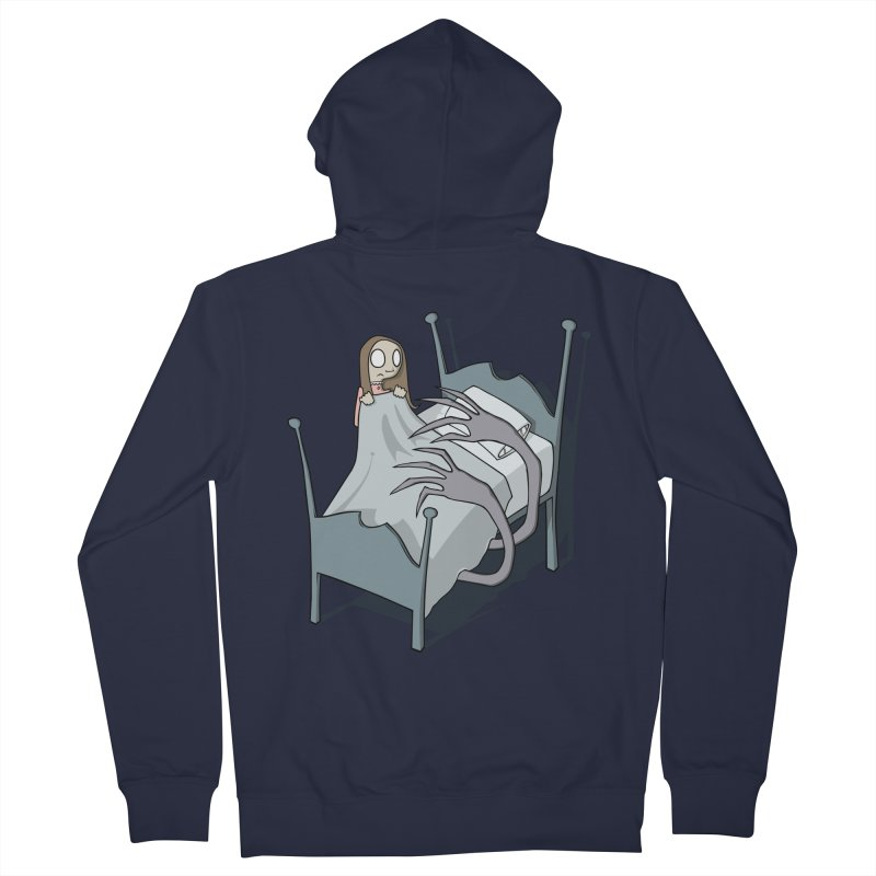 Bedtime Men's Zip-Up Hoody by facebunnies's Artist Shop