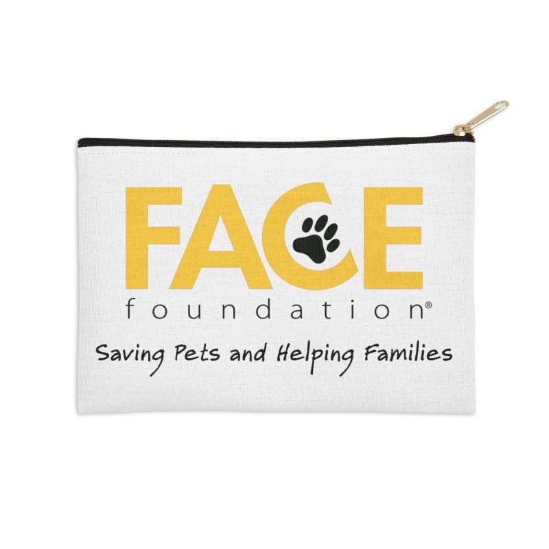 FACE Logo Accessories Zip Pouch by FACE Foundation's Shop