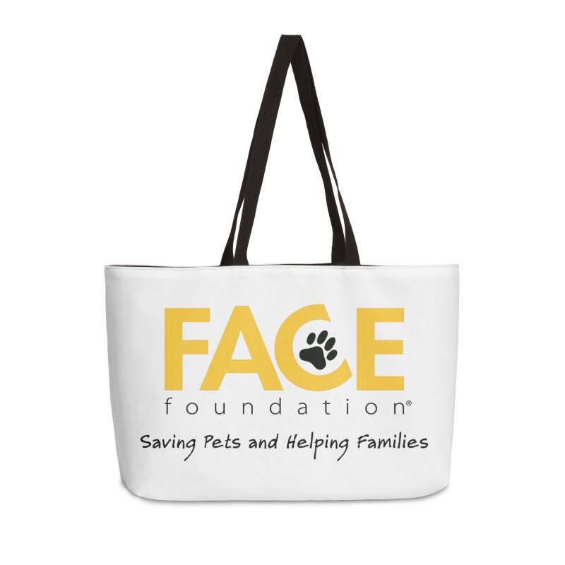 FACE Logo Accessories Weekender Bag Bag by FACE Foundation's Shop