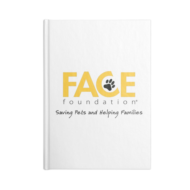 FACE Logo Accessories Notebook by FACE Foundation's Shop