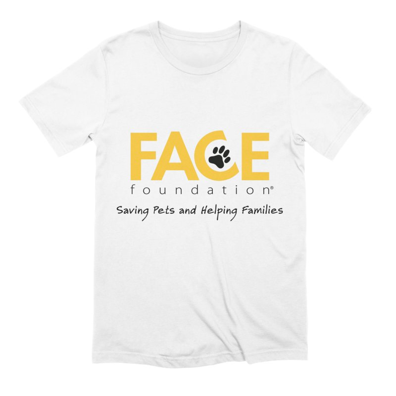 FACE Logo Men's Extra Soft T-Shirt by FACE Foundation's Shop