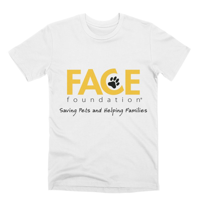 FACE Logo Men's Premium T-Shirt by FACE Foundation's Shop