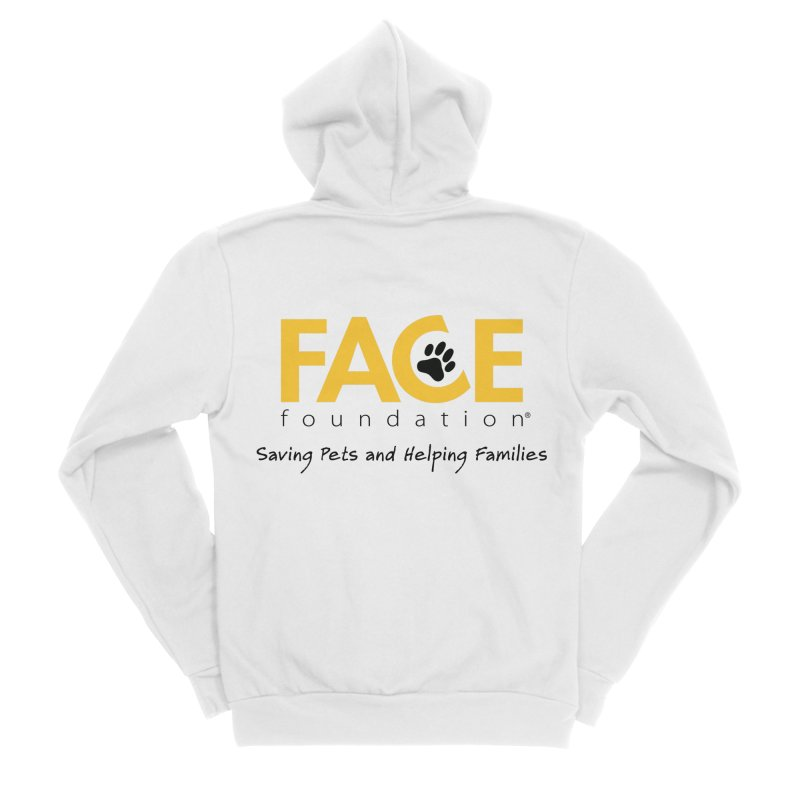 FACE Logo Men's Sponge Fleece Zip-Up Hoody by FACE Foundation's Shop