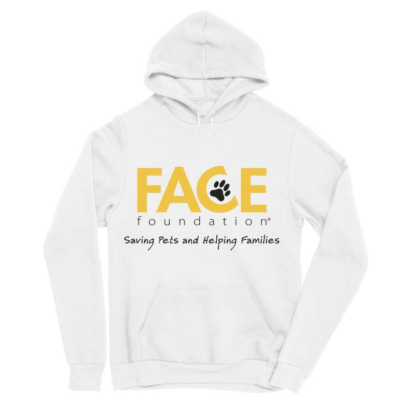 FACE Logo Men's Sponge Fleece Pullover Hoody by FACE Foundation's Shop