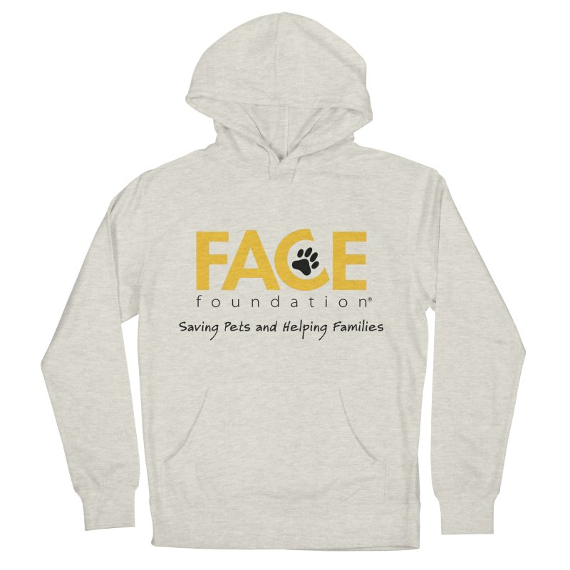 FACE Logo Men's French Terry Pullover Hoody by FACE Foundation's Shop