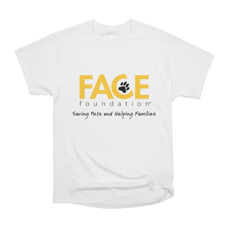 FACE Logo Men's Heavyweight T-Shirt by FACE Foundation's Shop