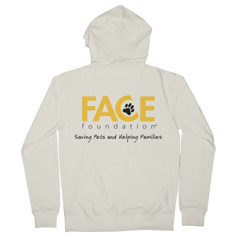 FACE Logo Men's French Terry Zip-Up Hoody by FACE Foundation's Shop