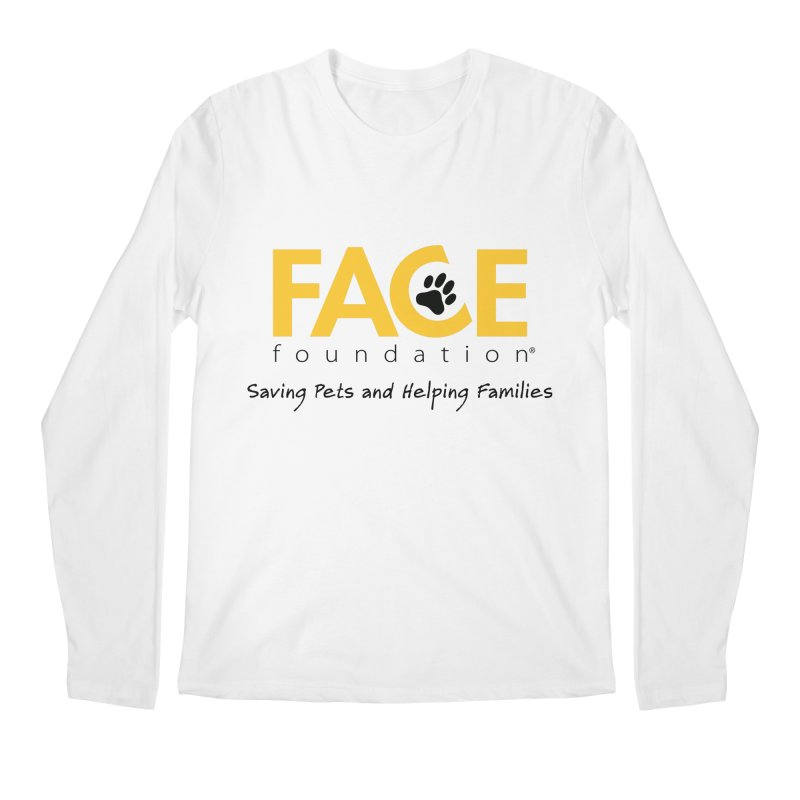 FACE Logo Men's Regular Longsleeve T-Shirt by FACE Foundation's Shop
