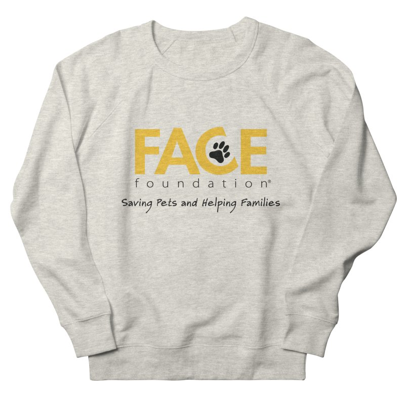 FACE Logo Women's French Terry Sweatshirt by FACE Foundation's Shop