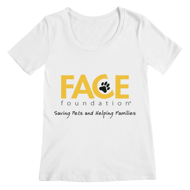 FACE Logo Women's Regular Scoop Neck by FACE Foundation's Shop