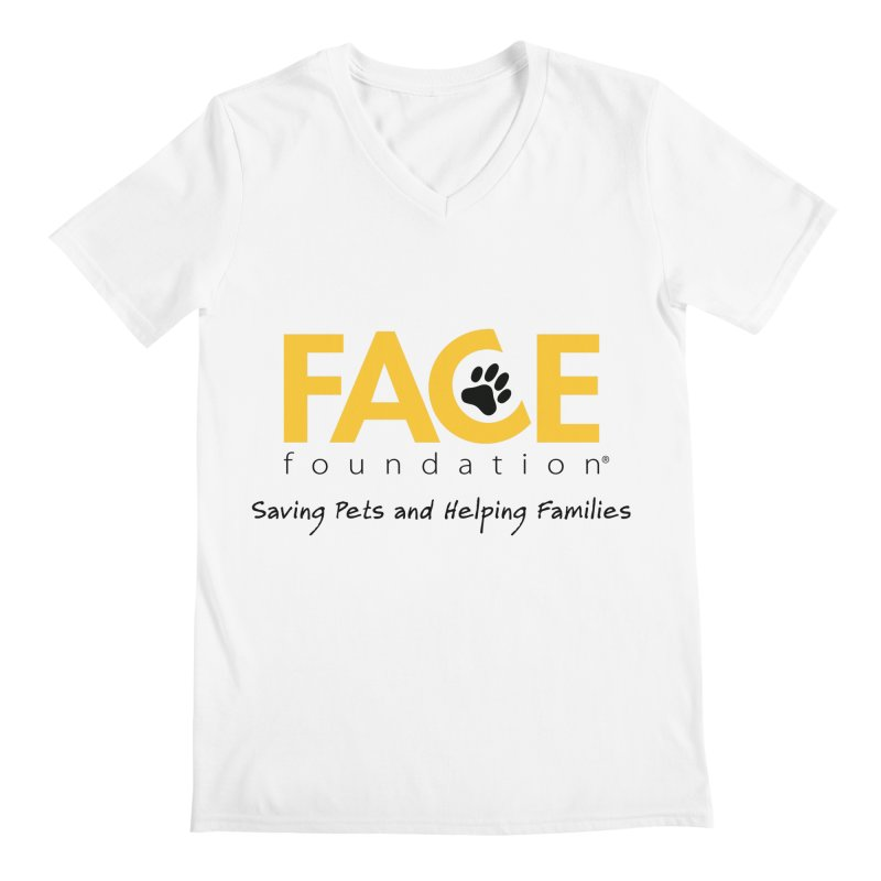 FACE Logo Men's Regular V-Neck by FACE Foundation's Shop