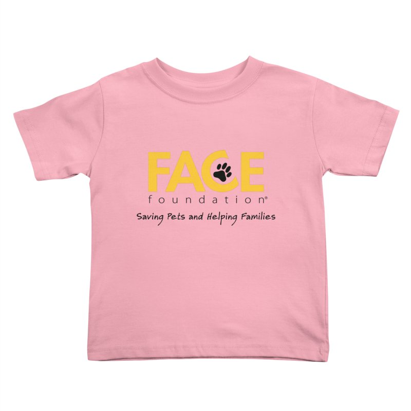 FACE Logo Kids Toddler T-Shirt by FACE Foundation's Shop