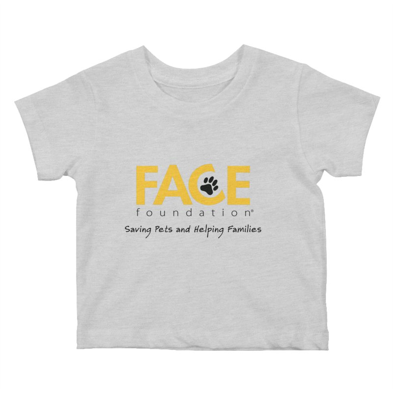 FACE Logo Kids Baby T-Shirt by FACE Foundation's Shop