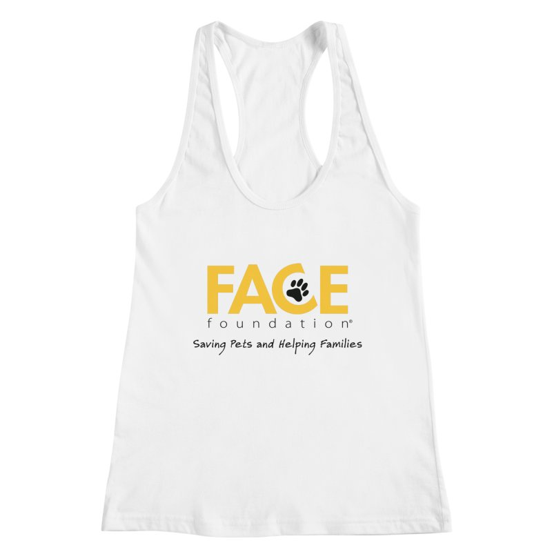 FACE Logo Women's Racerback Tank by FACE Foundation's Shop