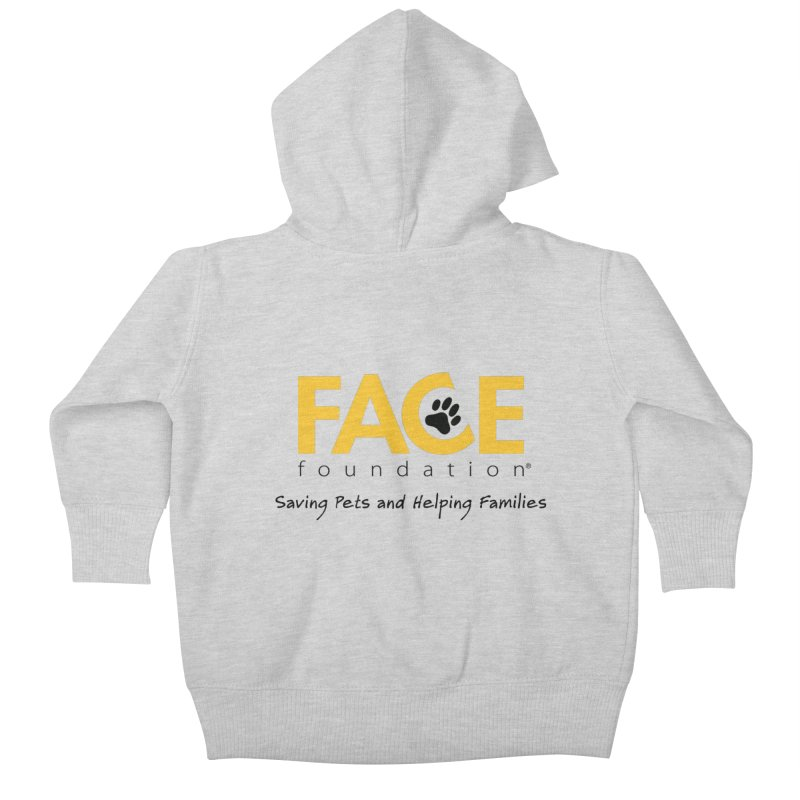 FACE Logo Kids Baby Zip-Up Hoody by FACE Foundation's Shop