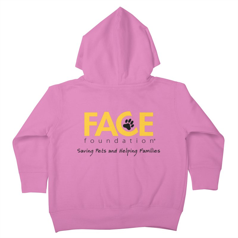 FACE Logo Kids Toddler Zip-Up Hoody by FACE Foundation's Shop