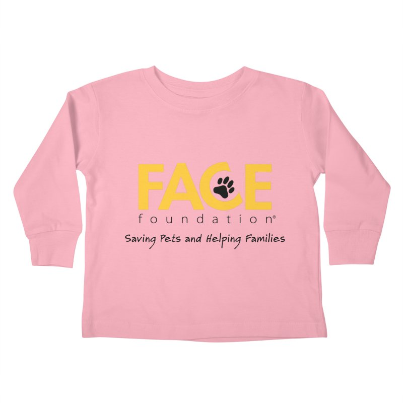 FACE Logo Kids Toddler Longsleeve T-Shirt by FACE Foundation's Shop