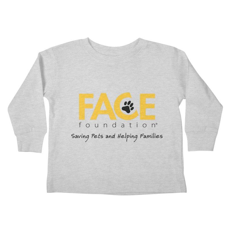 FACE Logo Kids Toddler Longsleeve T-Shirt by FACE Foundation's Shop