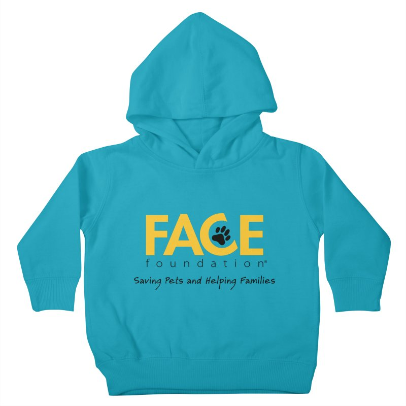 FACE Logo Kids Toddler Pullover Hoody by FACE Foundation's Shop