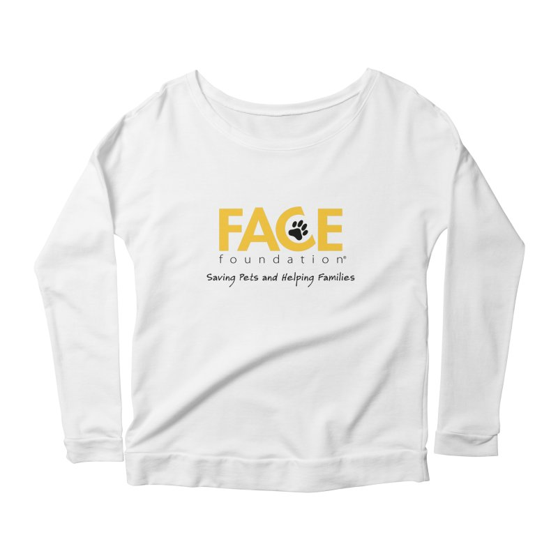 Apparel Women's Scoop Neck Longsleeve T-Shirt by FACE Foundation's Shop