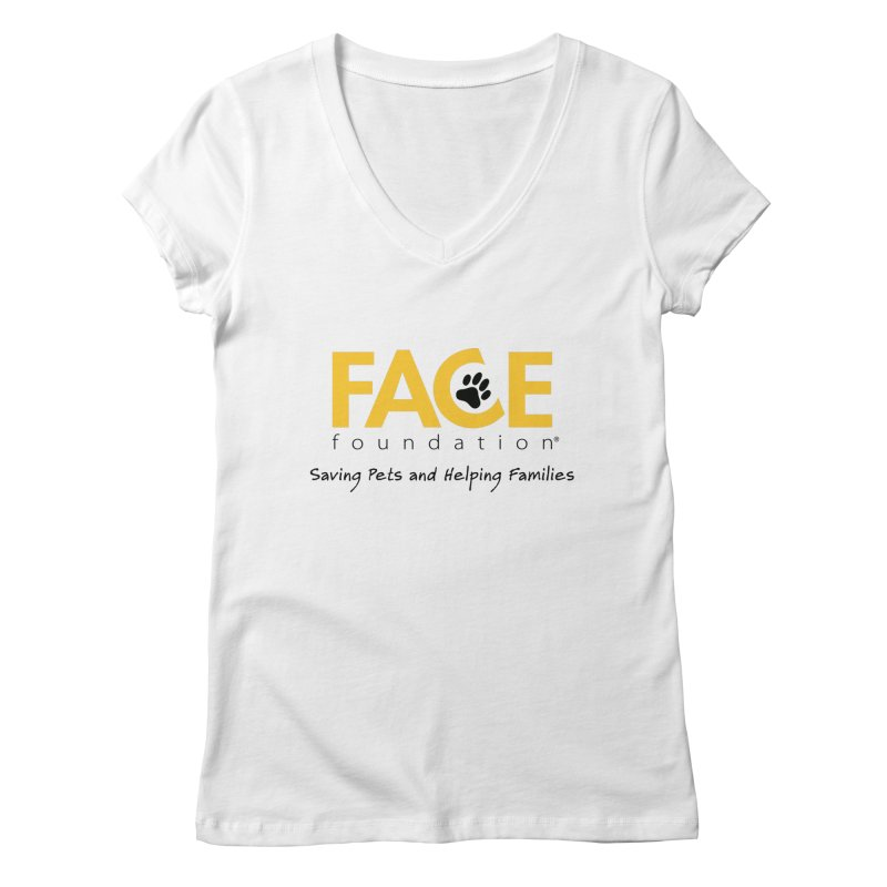 FACE Logo Women's Regular V-Neck by FACE Foundation's Shop