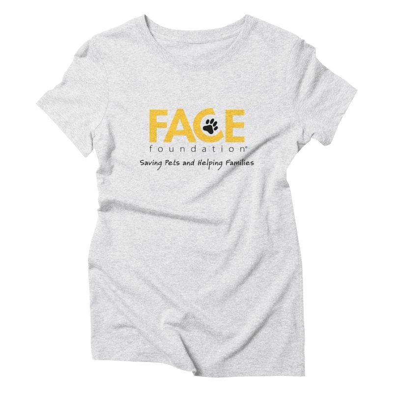 FACE Logo Women's Triblend T-Shirt by FACE Foundation's Shop