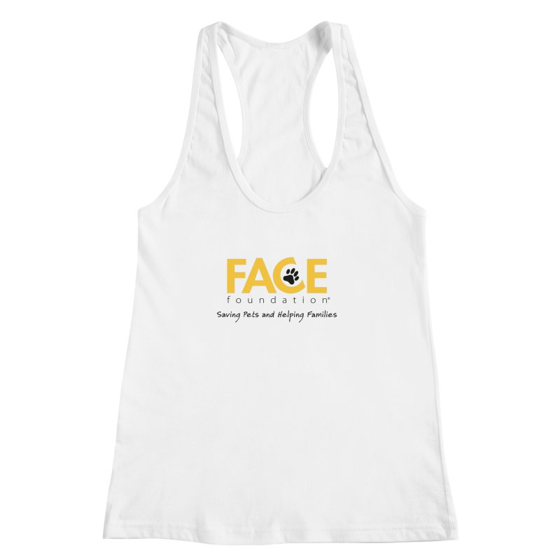 FACE Logo Women's Racerback Tank by FACE Foundation's Shop