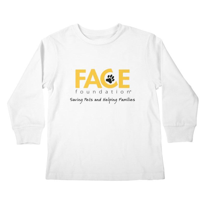 FACE Logo Kids Longsleeve T-Shirt by FACE Foundation's Shop