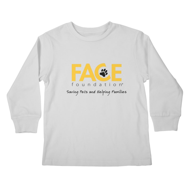 FACE Logo Kids Longsleeve T-Shirt by FACE Foundation's Shop