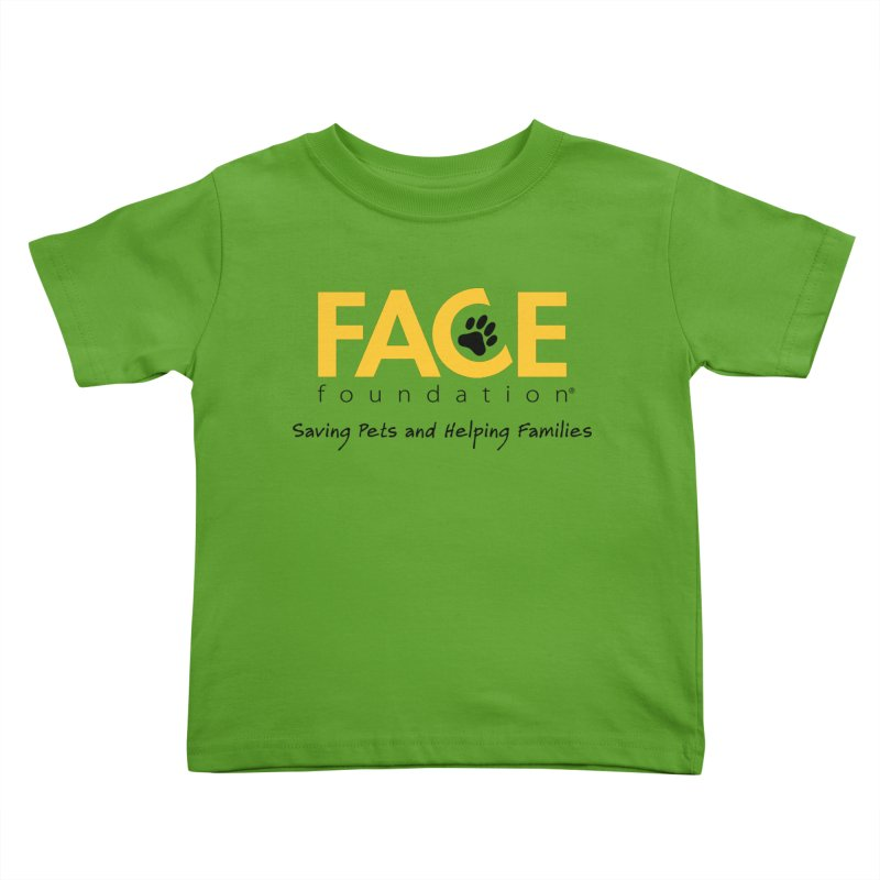 Kids Kids Toddler T-Shirt by FACE Foundation's Shop